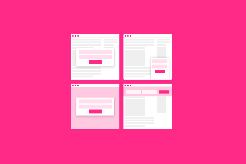 Introducing Intelligent Pop-ups and How They'll Help You Build Your Email List — Today!