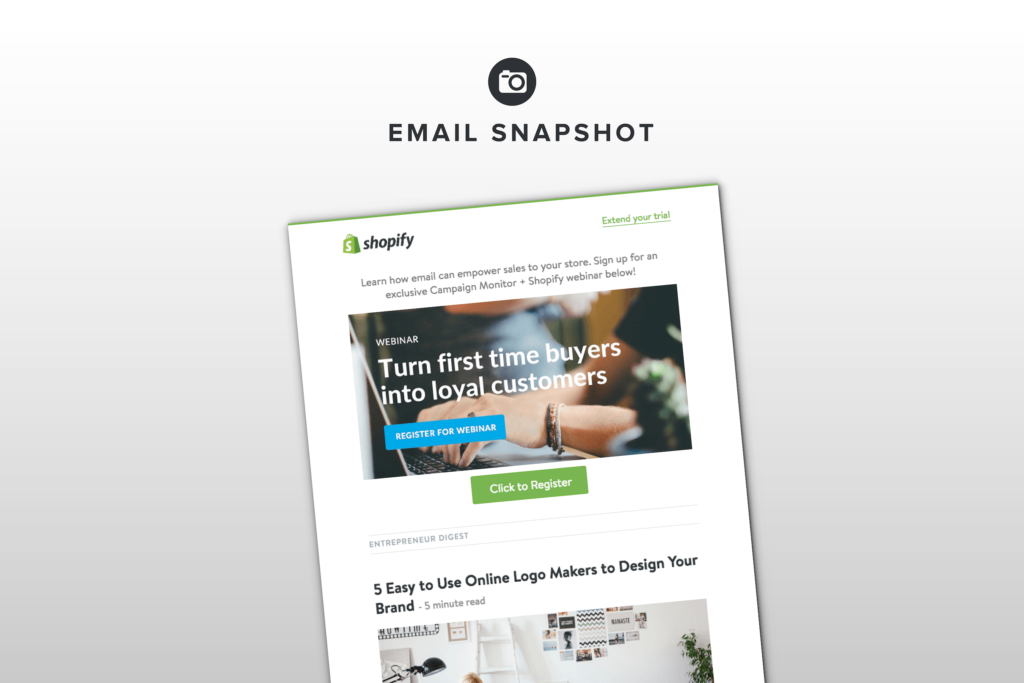 How Shopify Uses Diverse Content To Keep Their Newsletters Feeling Fresh