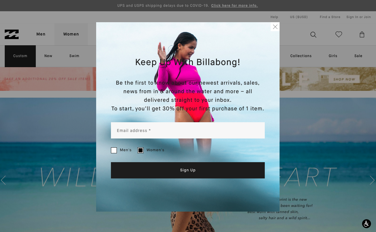 billabong_email_marketing_newsletter_opt_in