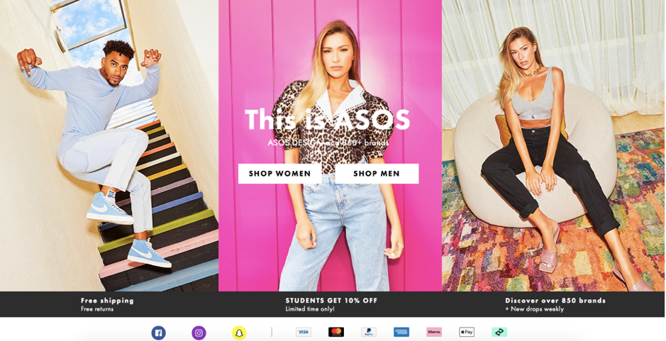 asos_ecommerce_checkout_free_shipping