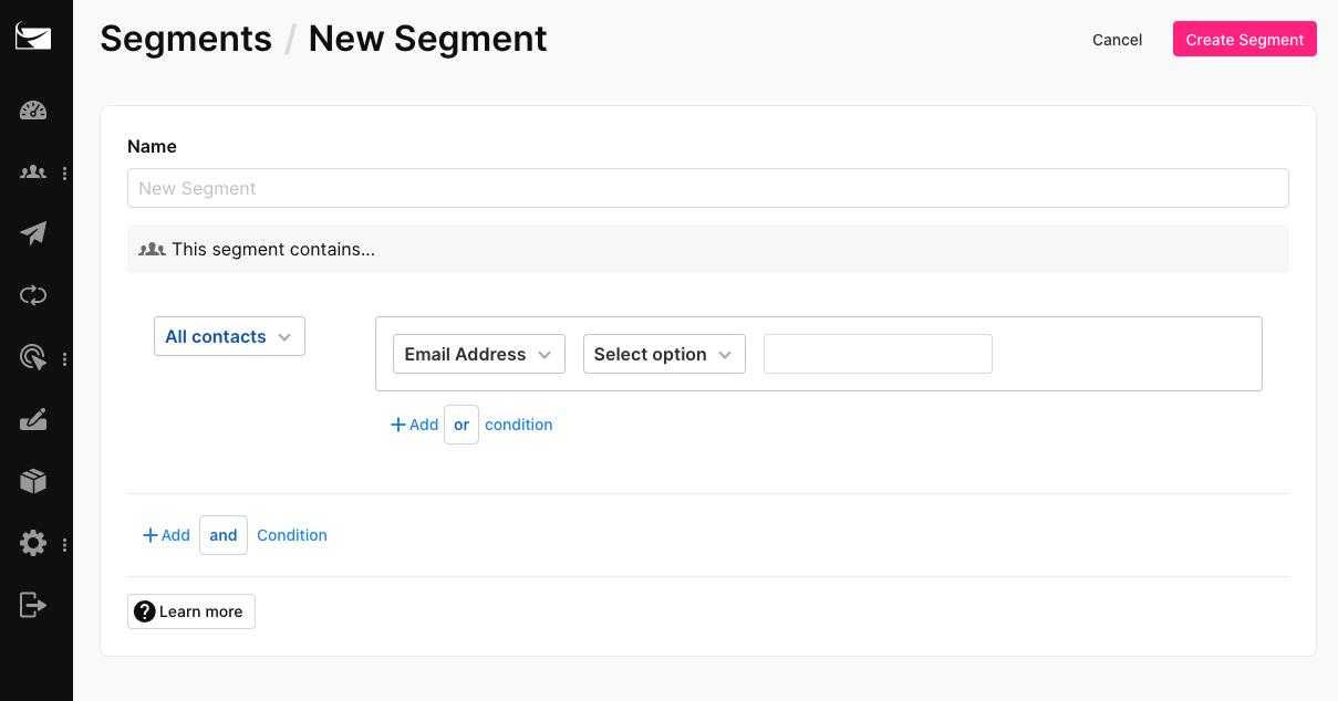 sendlane_segment_email_marketing