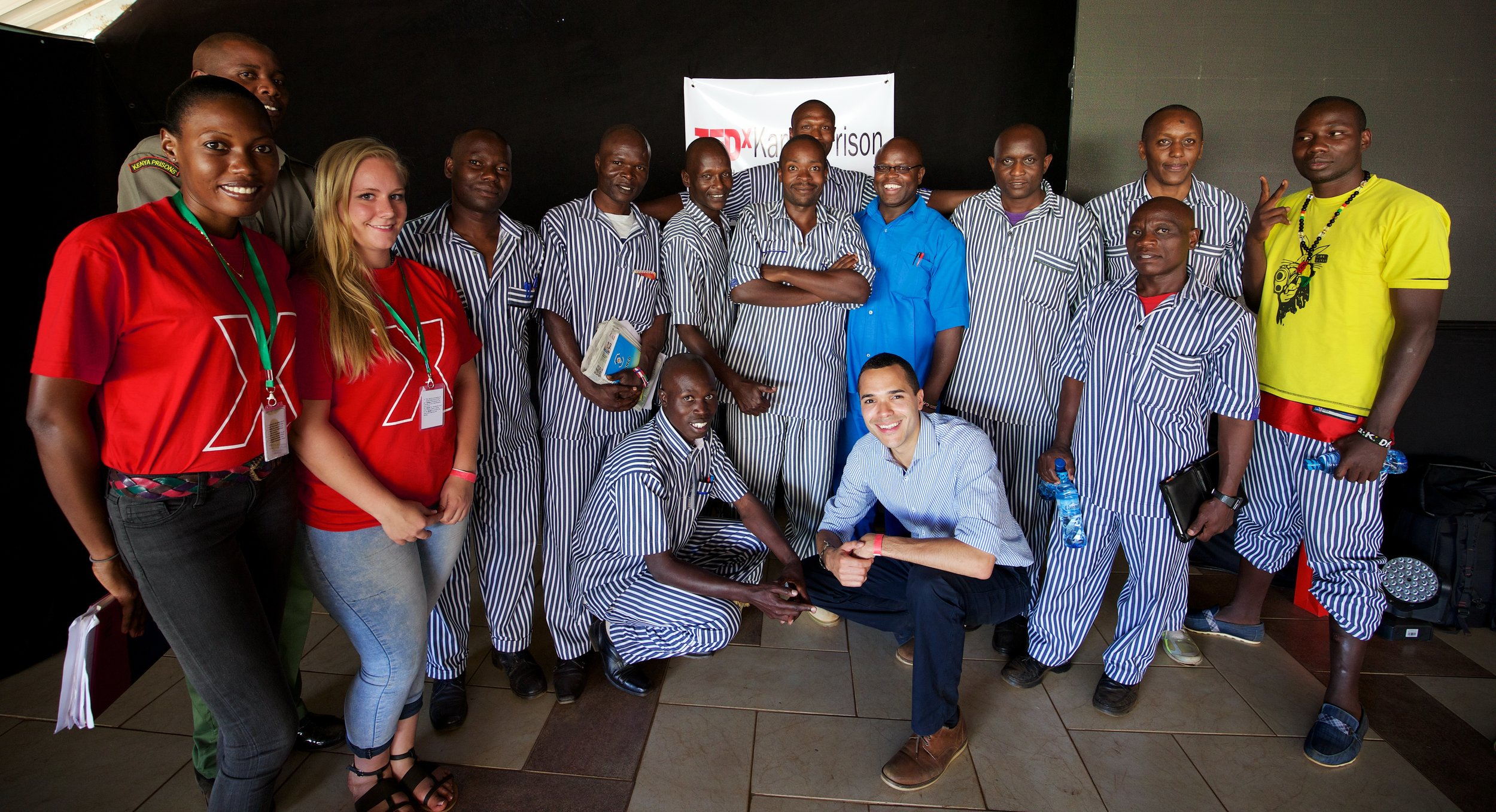 First ever TEDx event in an African prison