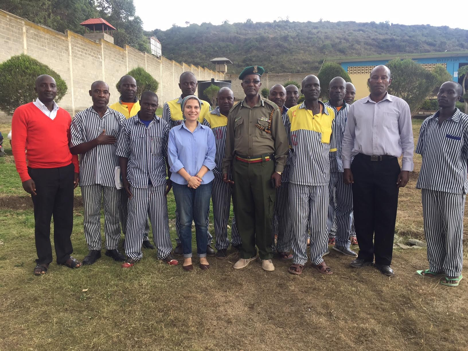 I made 44 friends in Kenya's prisons and they taught me more than I taught them