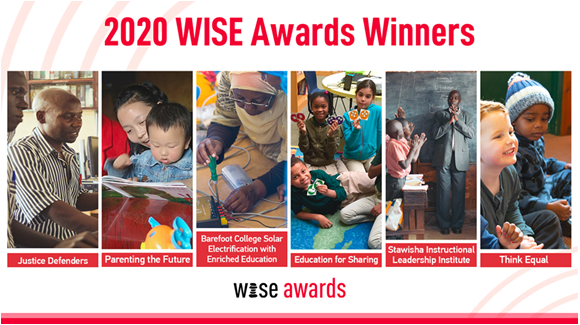 PR Newswire – 2020 Wise Awards Winners Announced