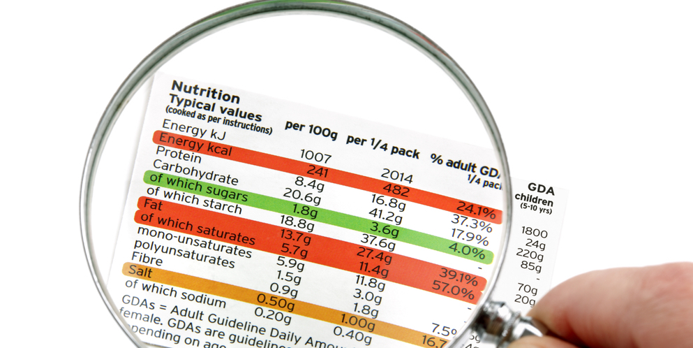 Check Gluten on Food Labels