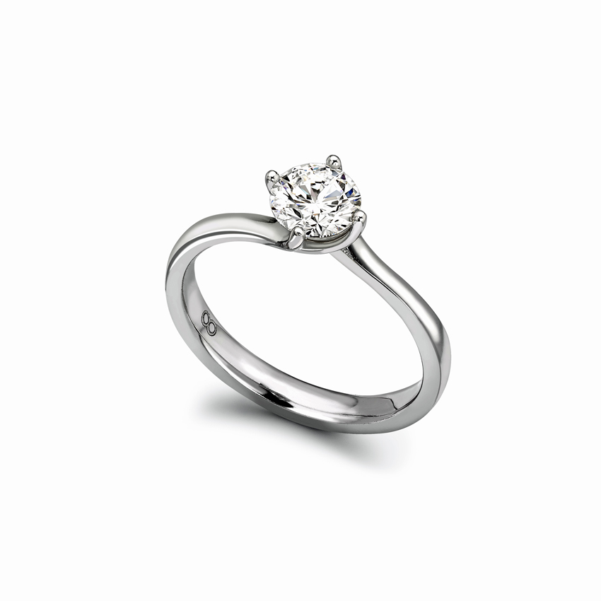 Anjuli Engagement Ring, a super flattering ring that suits all hand shapes.