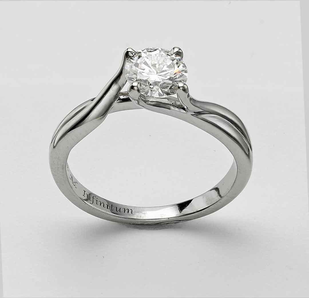 engagement ring london hatton garden by heirloom