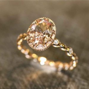 a cheap hatton garden engagement ring of low quality