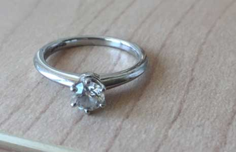 gold platinum engagement ring upcycling i want to change my engagement ring design