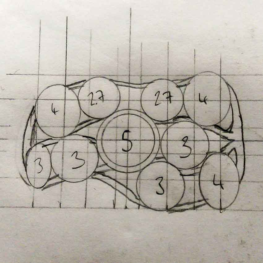 Design my own ring - the concept sketch preferred