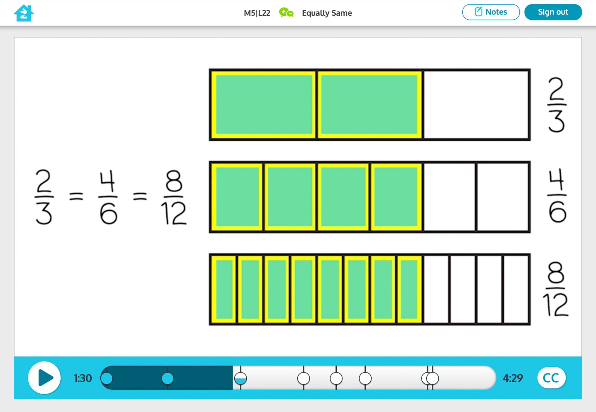 Grade 3 math activity, preview image
