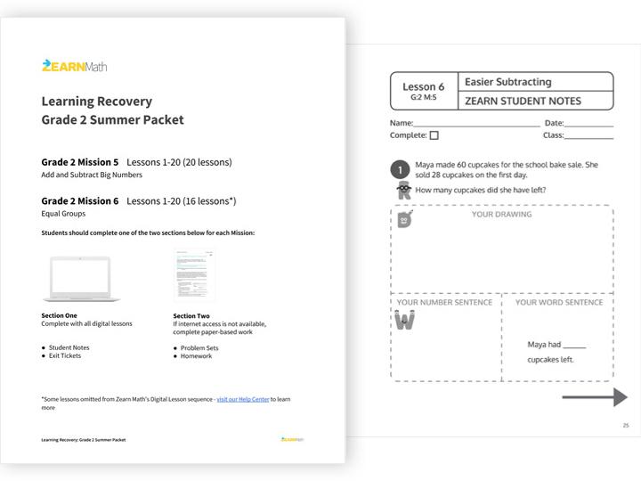 Offline materials, thumbnail preview