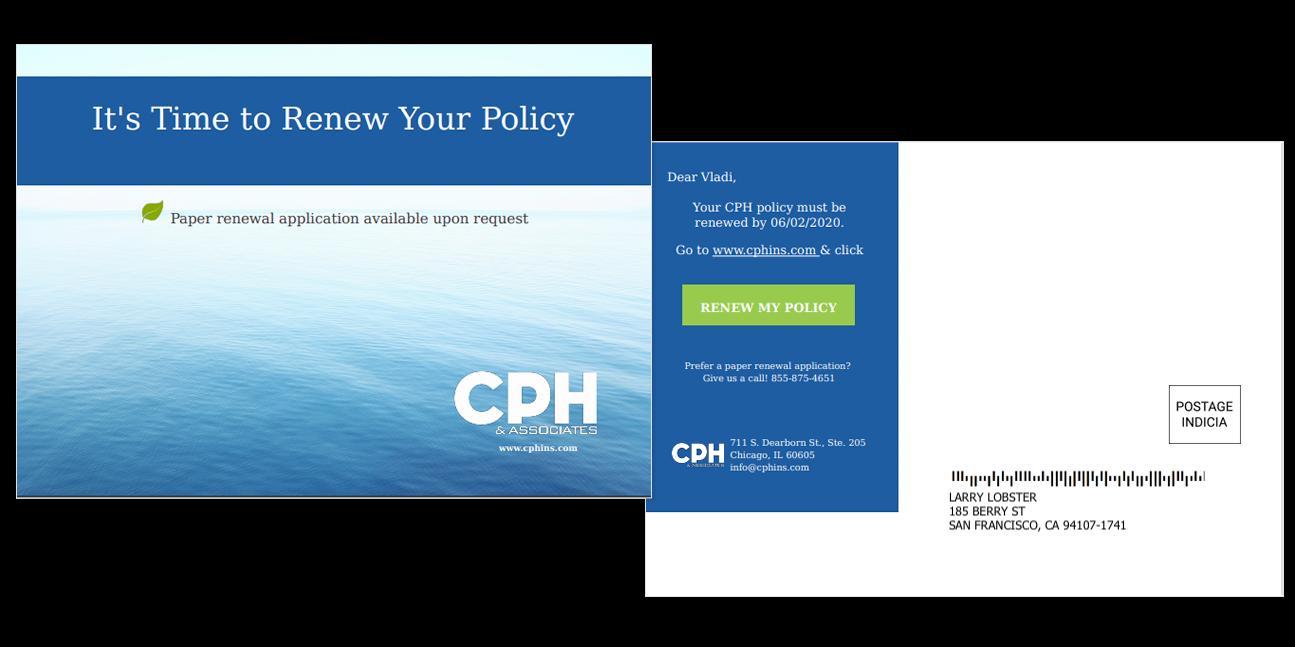 CPH postcard