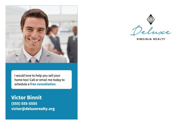 Real Estate Acquisition Postcard