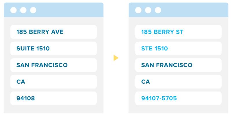 Address Verification API Example
