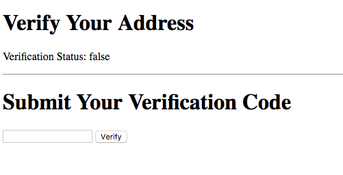 lob verify your address