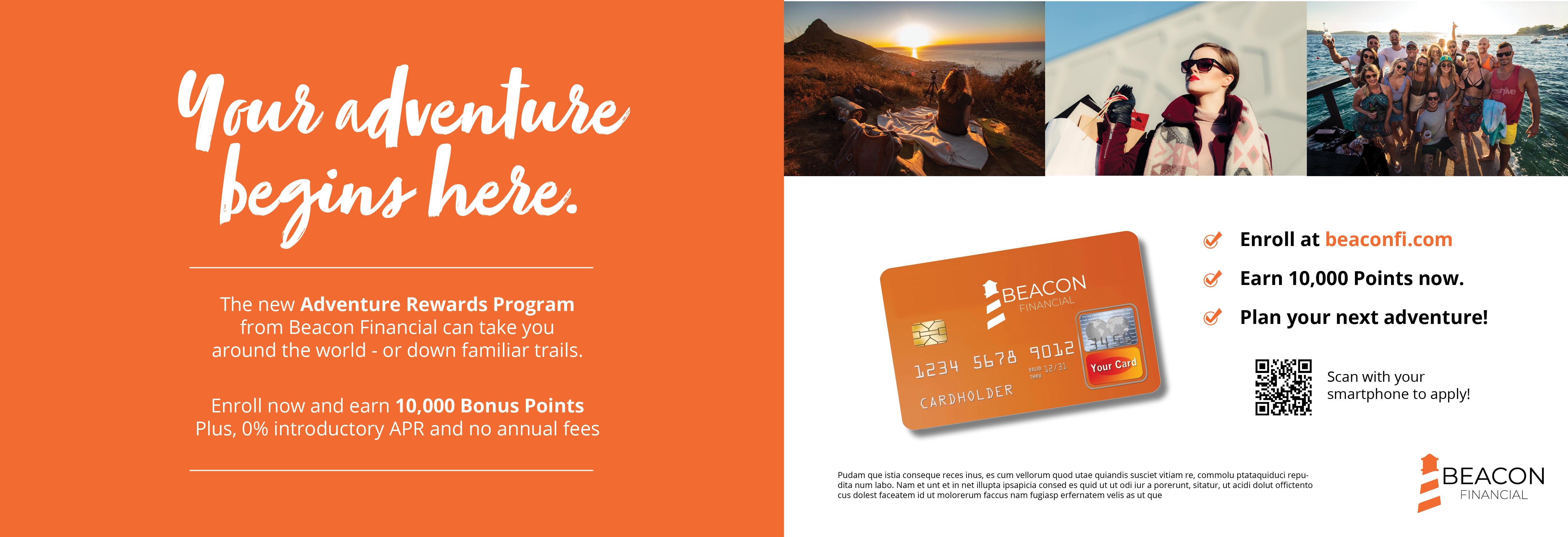 Reward Card Acquisition Self Mailer