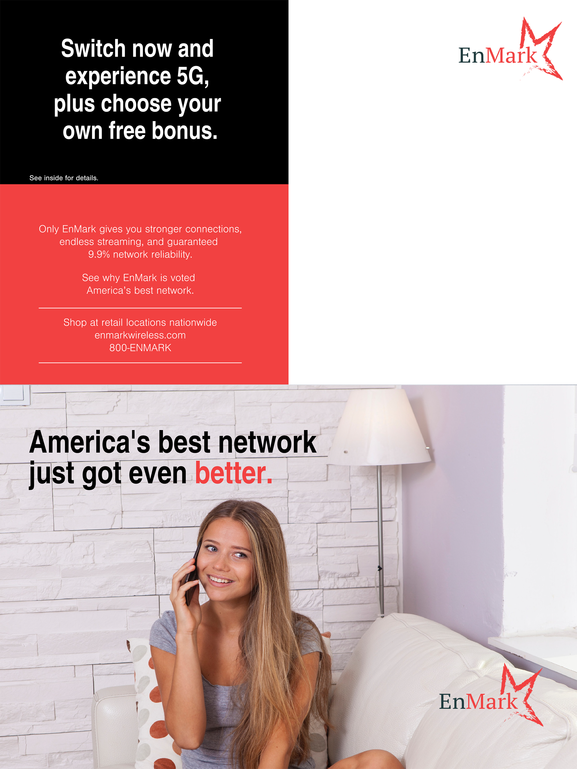 Cross-Sell Campaign Self Mailer