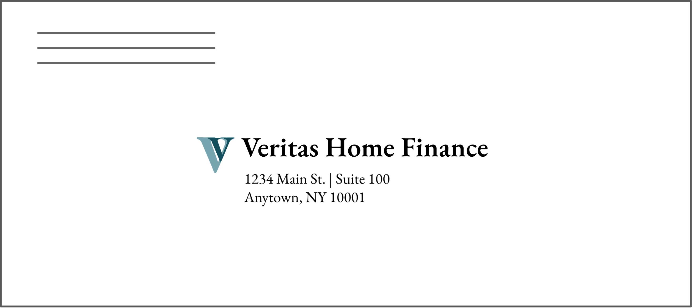 Home Financing Return Envelope