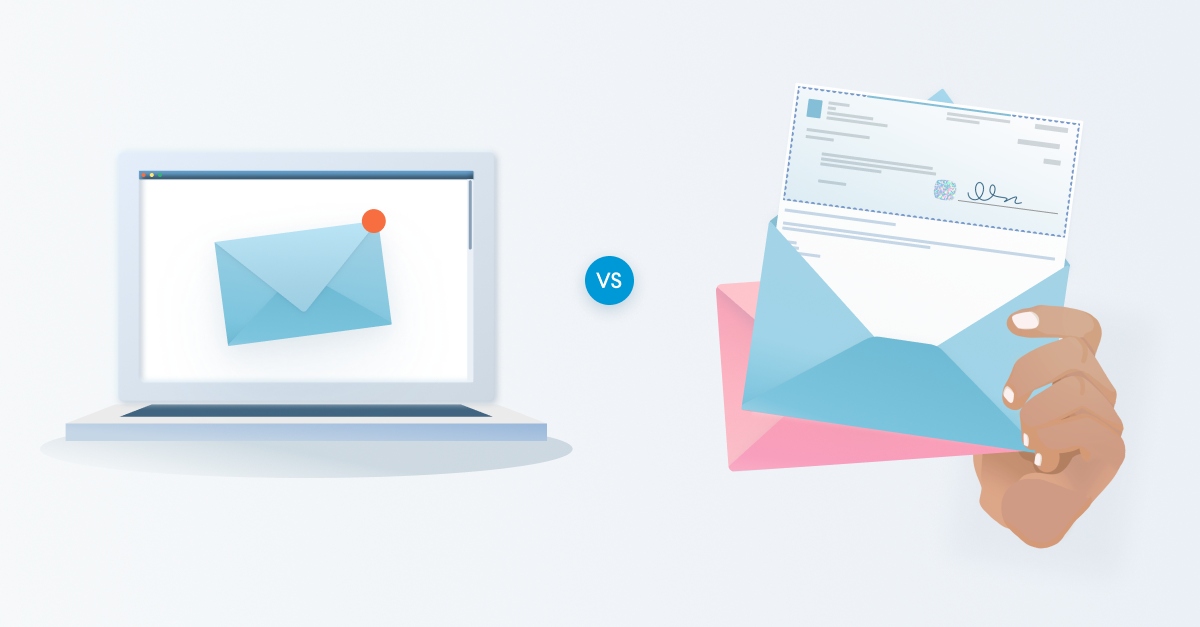 Transactional Email vs. Direct Mail: How Do You Decide?