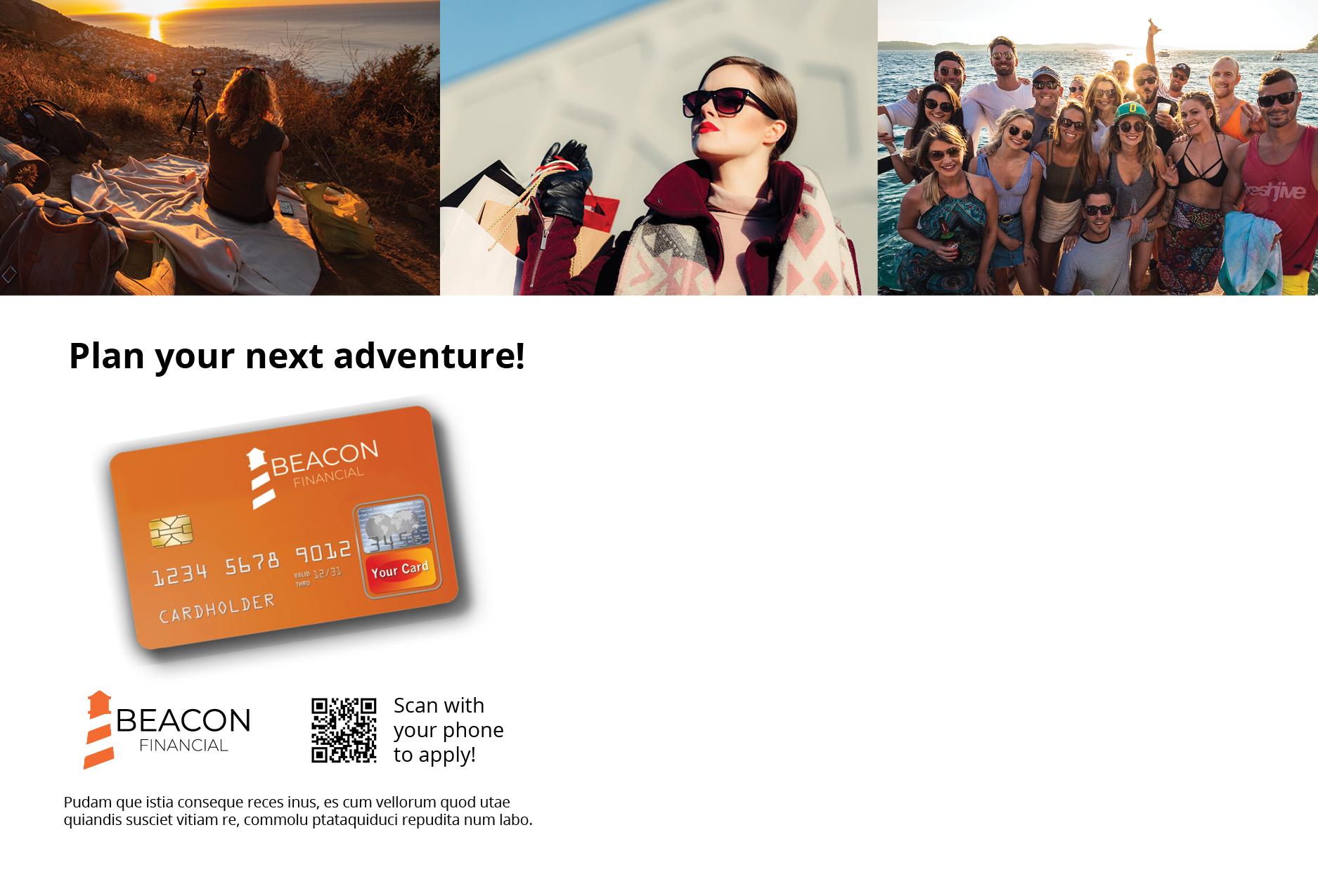 Reward Card Acquisition Postcard