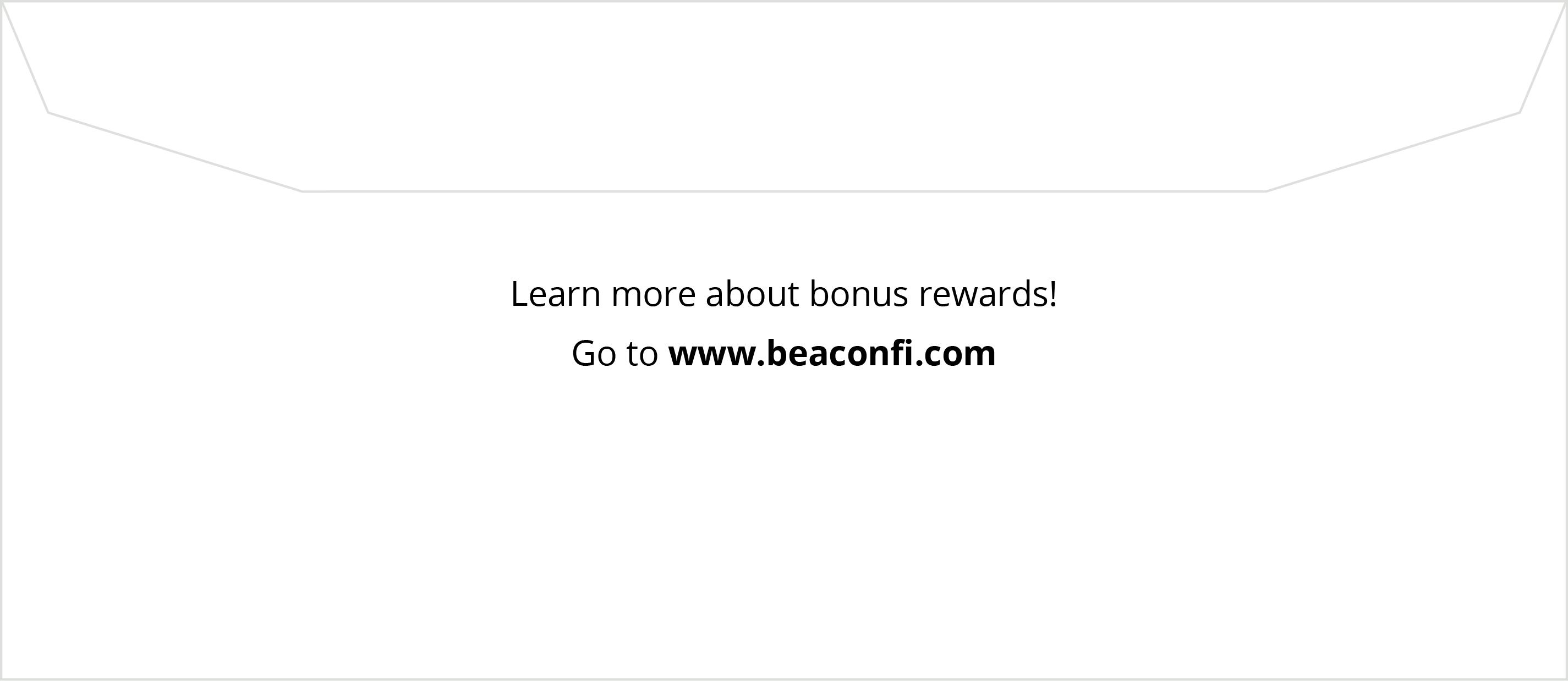 Rewards Card Outer Envelope
