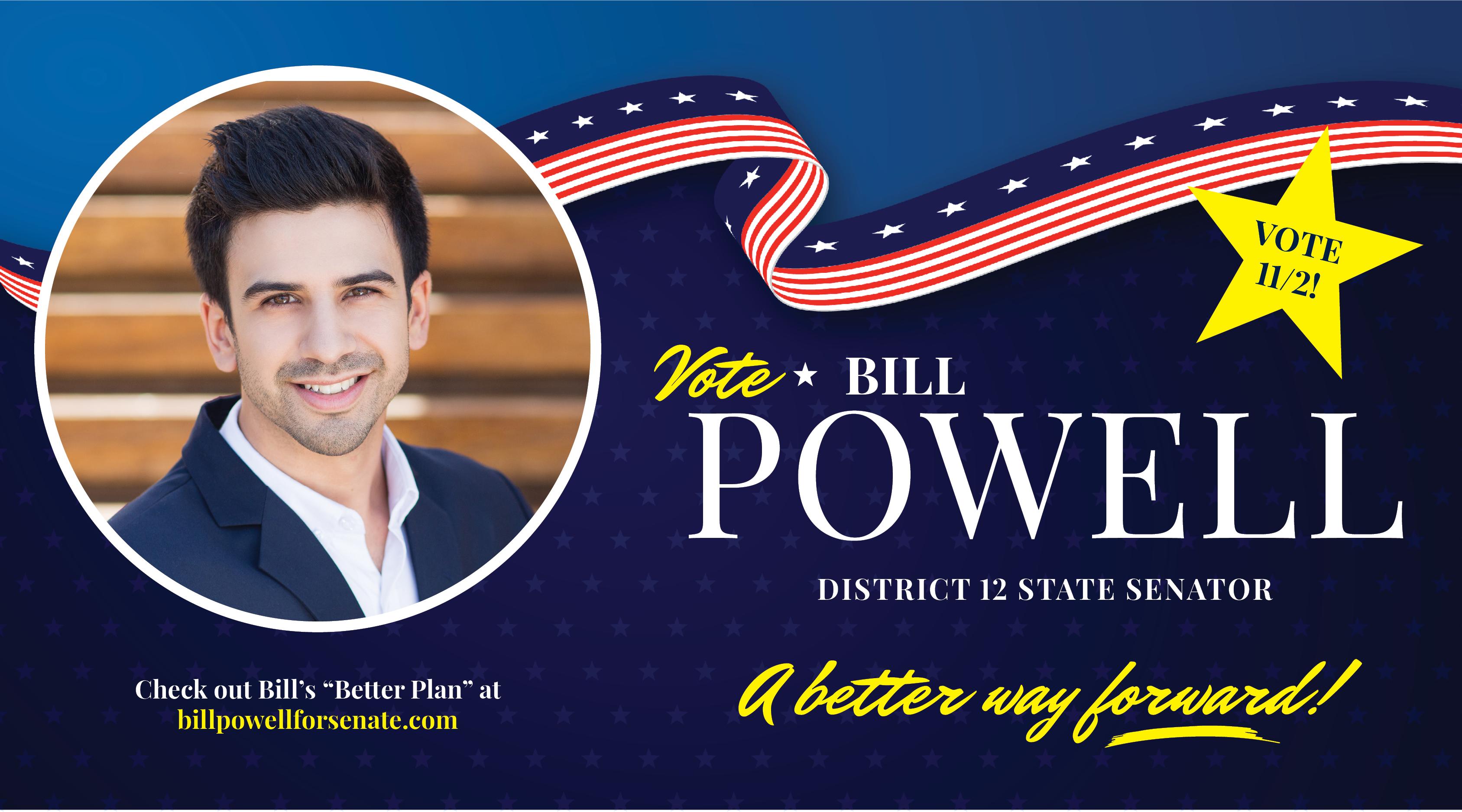 Political Campaign Postcard
