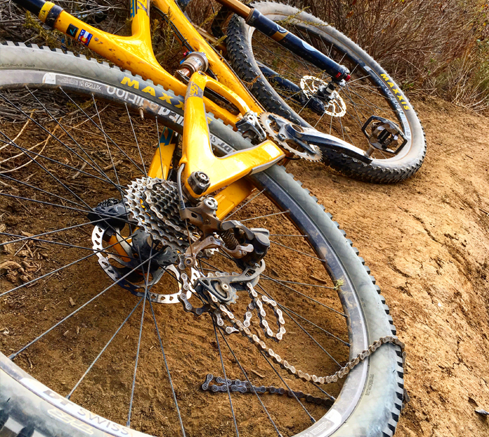 Arch's bike chain 2