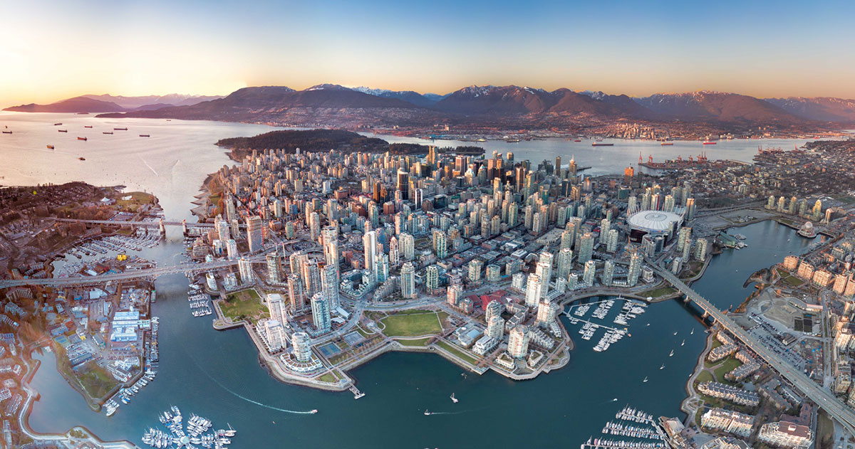 The city of Panorama, British Columbia.