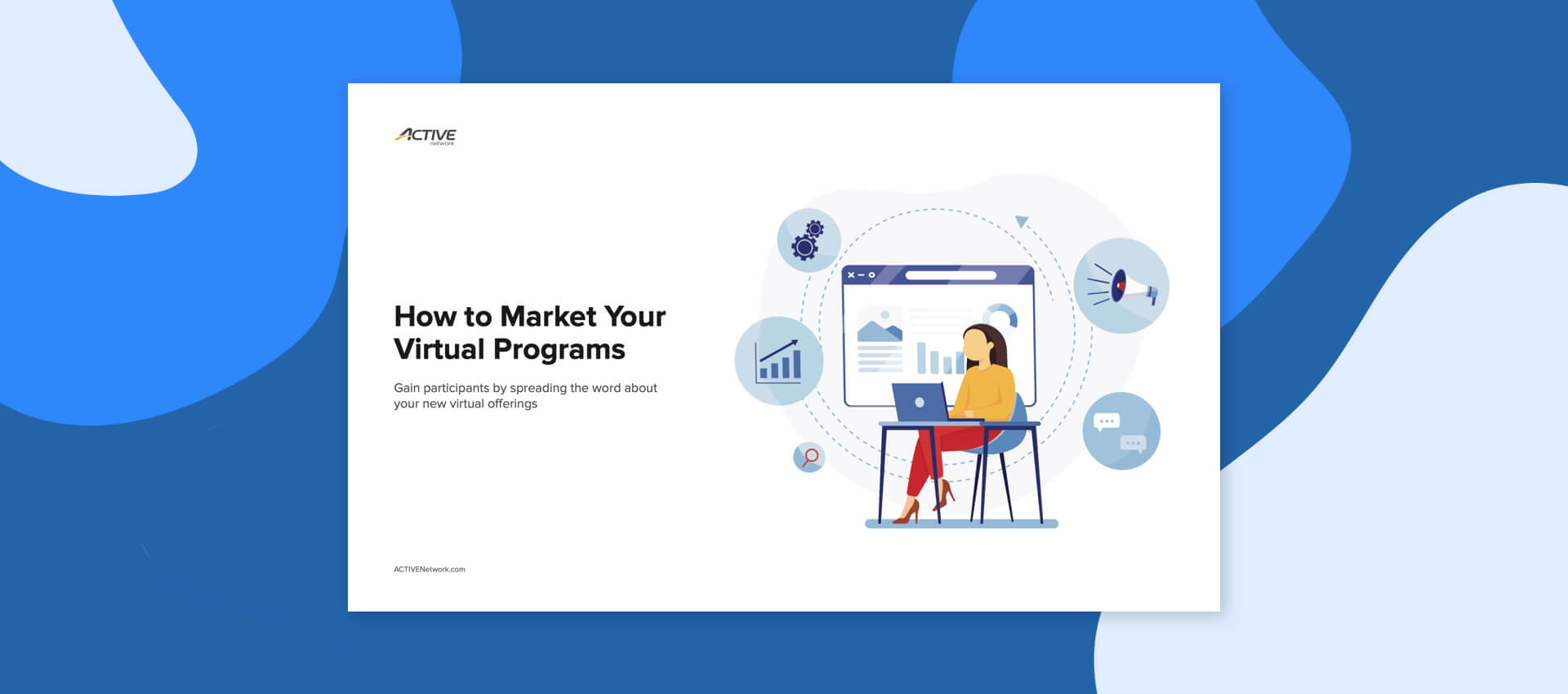 thumbnail graphic for the how to market your virtual program content download