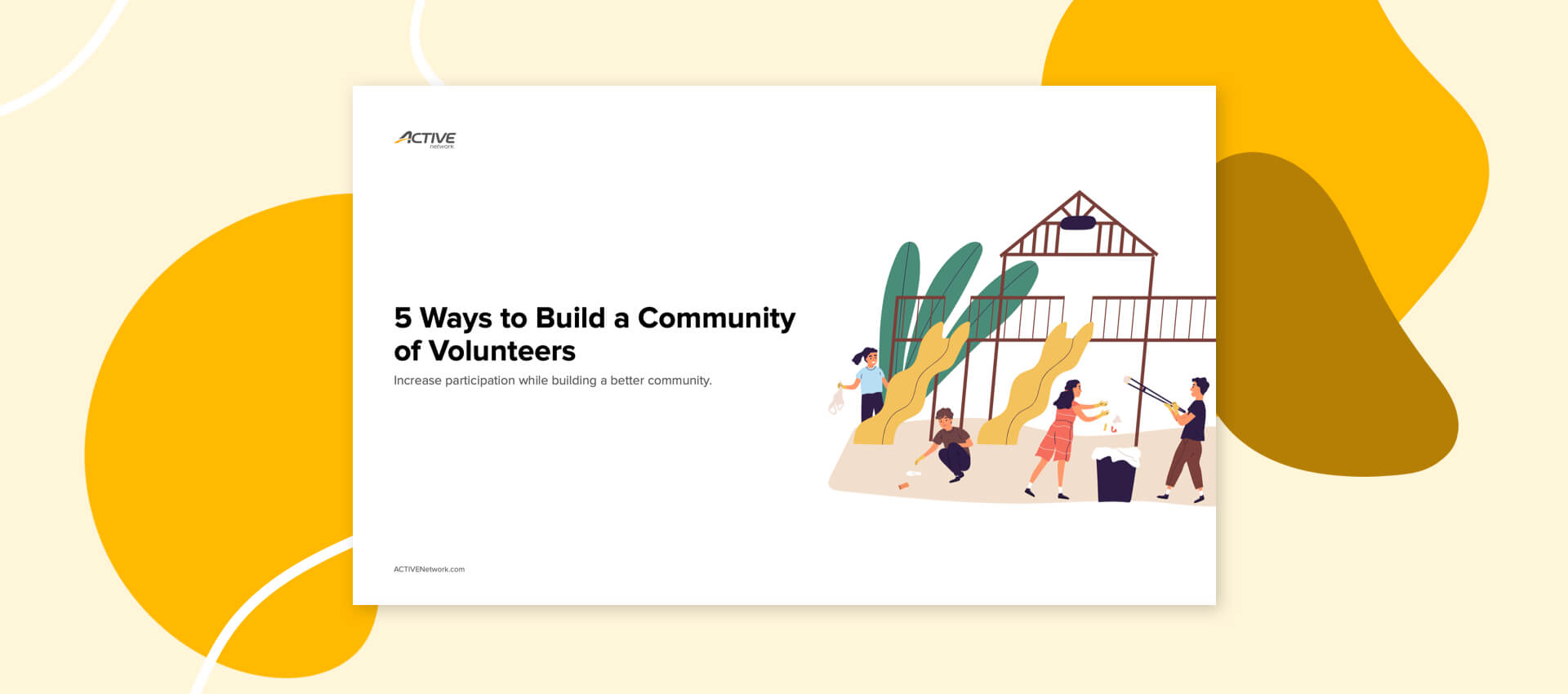 5 ways to build a community of volunteers pdf thumbnail