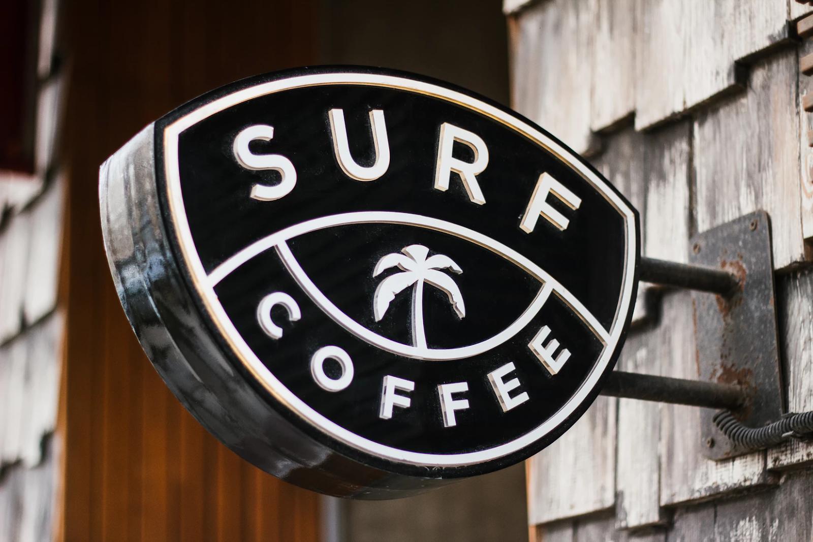 Surf Coffee Logo