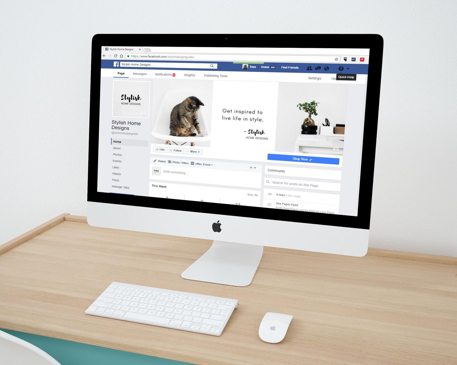 facebook business profile
