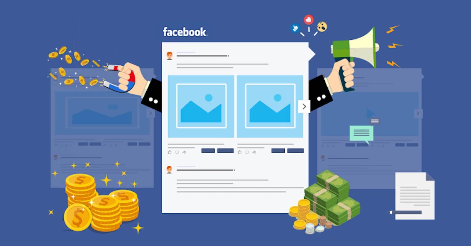 graphic of facebook ads