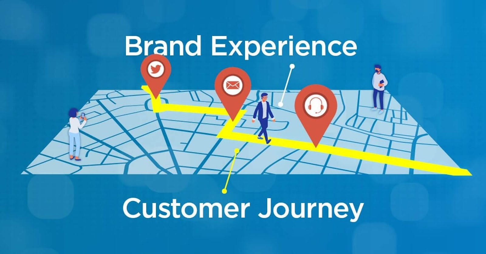 graphic depicting brand experience