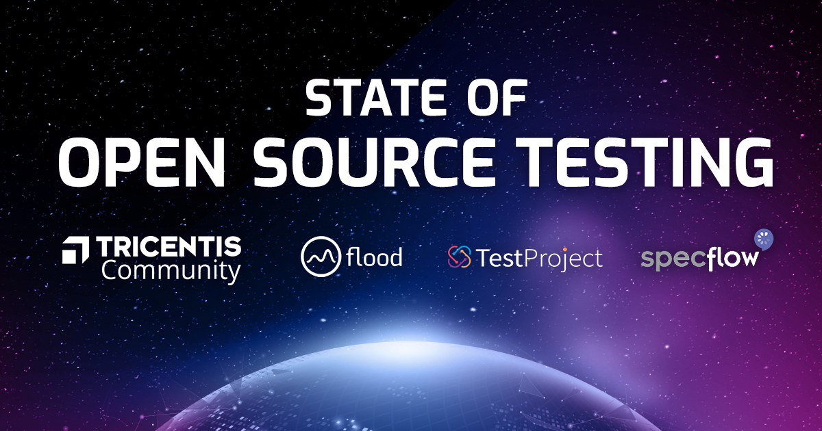 Tricentis Flood State Of Open Source Testing