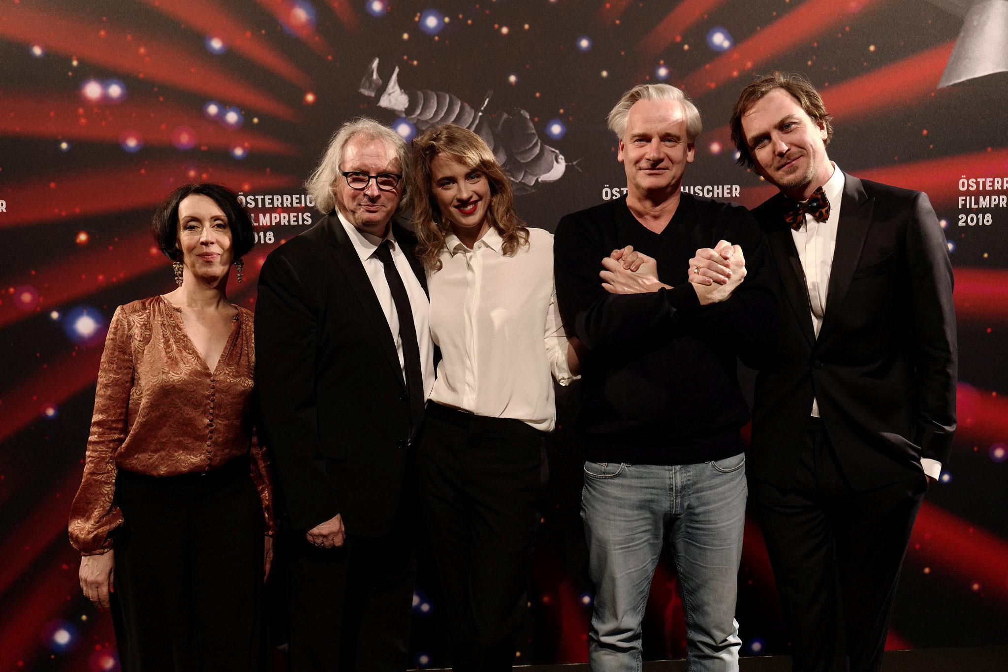 Österreichischer Filmpreis: Beste männliche Hauptrolle: Lars Eidinger für DIE BLUMEN VON GESTERN
