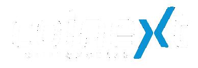 Logo Coinext Criptomoedas Negativo