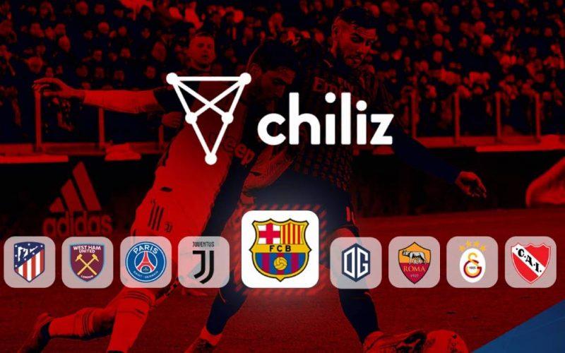 Alguns times que têm parceria com o token Chiliz.