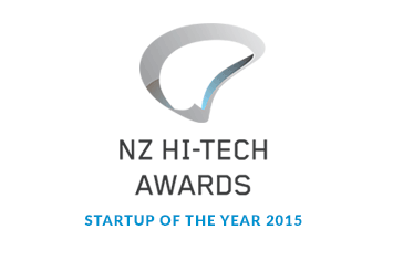 NZ Hi-Tech Awards Startup of the year 2015