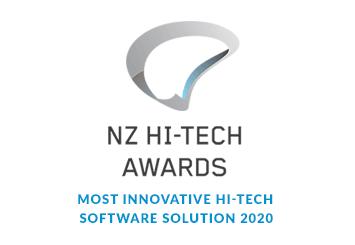 NZ Hi-Tech Awards Most Innovative Hi-Tech Software Solution 2020