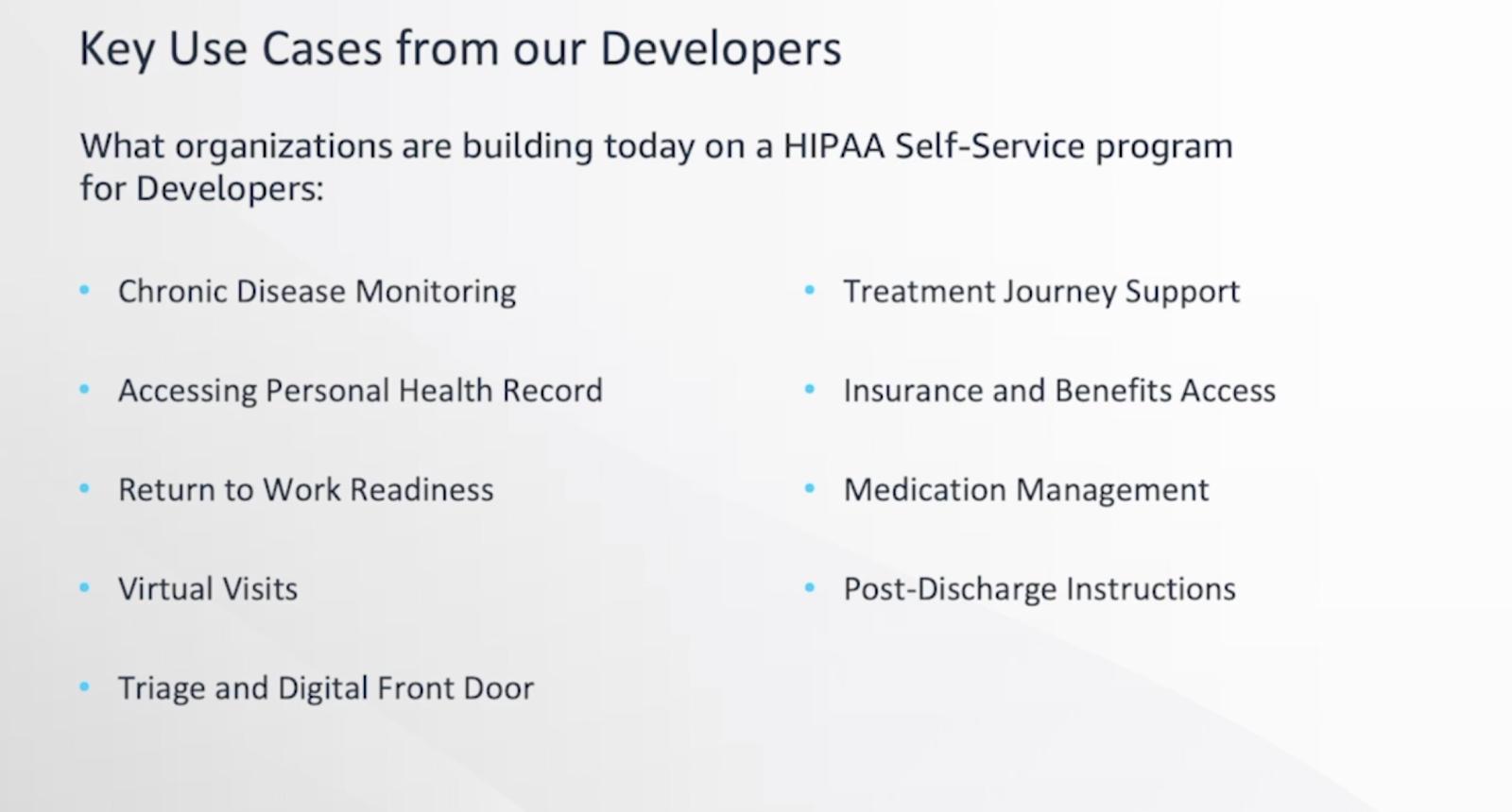 From Head of Alexa Health Rachel Jiang HLTH2020 presentation
