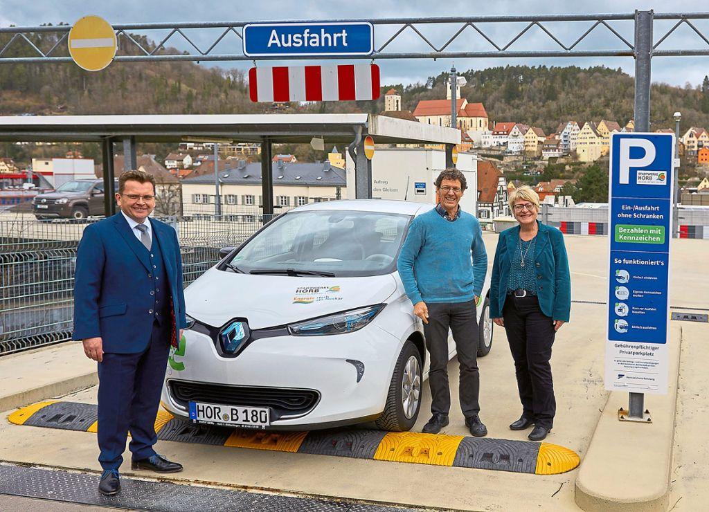 Horb am Neckar: So gelingt Digitalisierung im P+R Parkhaus