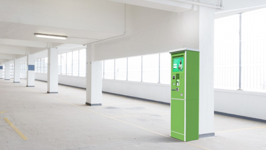 Peter Park mit neuem Parkautomat: Maß-geschneidert für Kennzeichenerkennung
