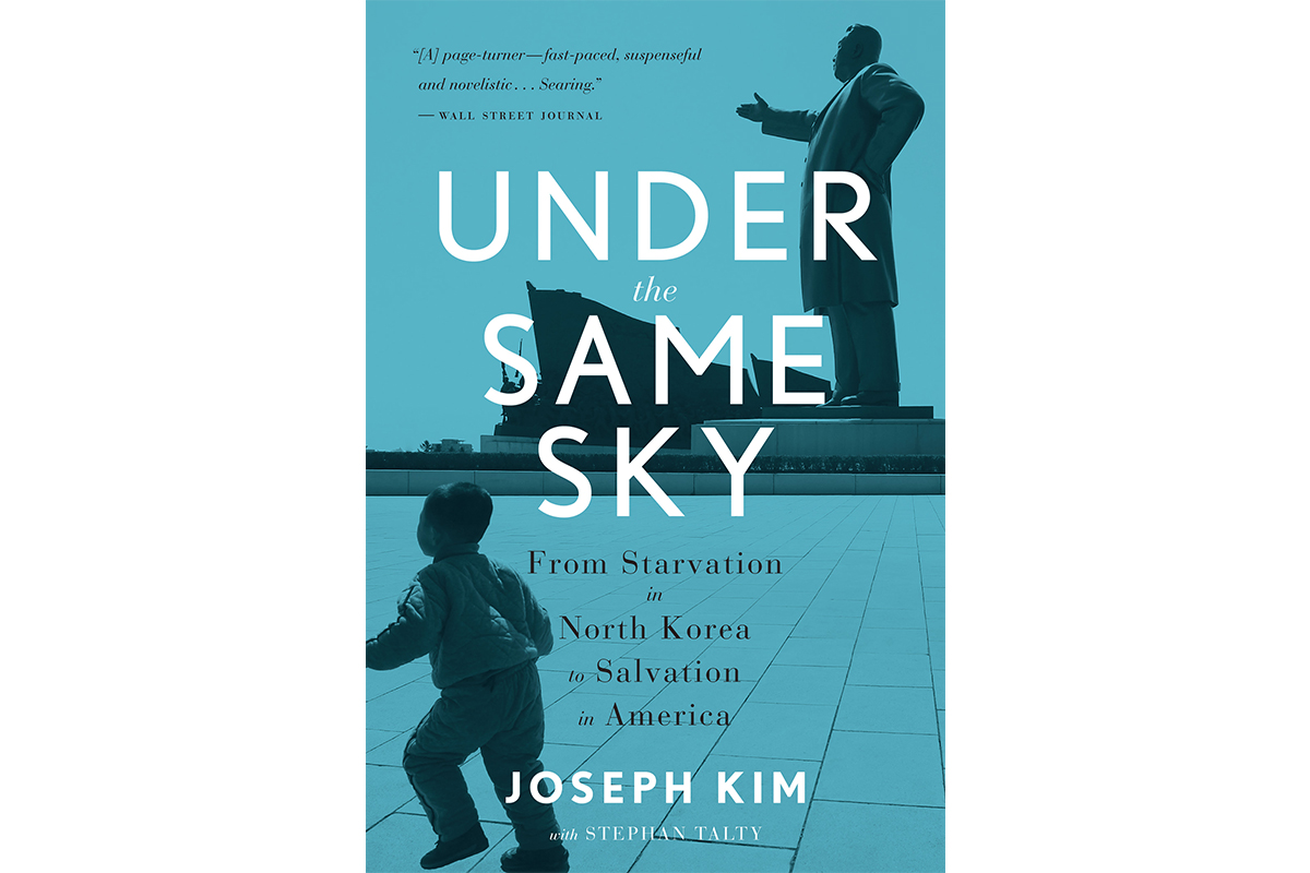 Book Cover of Under the Same Sky by North Korean Defector Joseph Kim with Stephan Talty