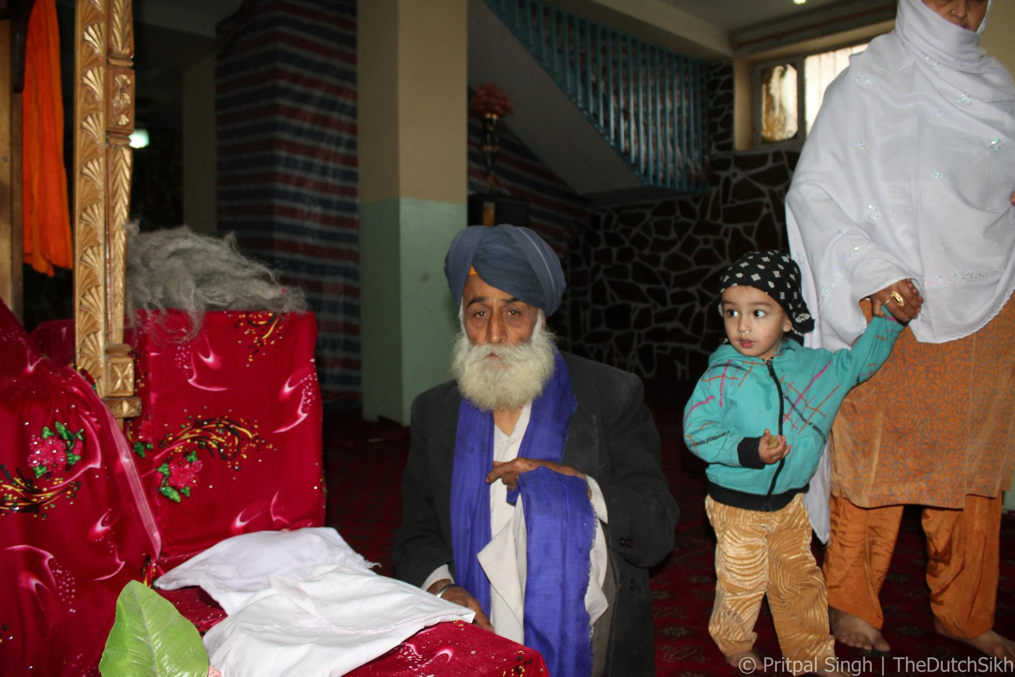 Avtar Singh, one of the victims of the May 25th attack, pictured in Shorbazar, 2012. Photograph by Pritpal Singh