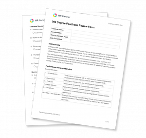 360 degree review form