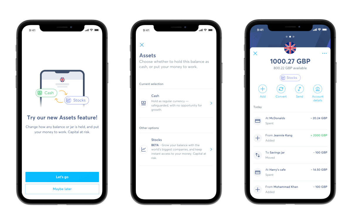 Live product shots in app