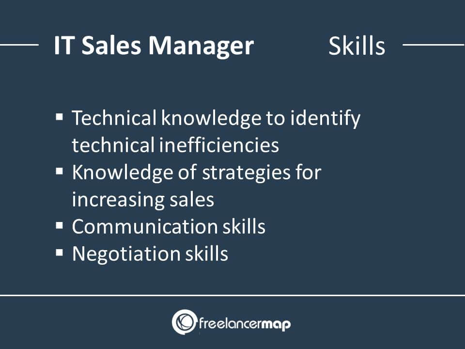 IT Sales Manager Skills