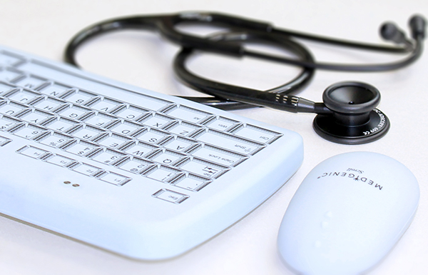 Hospital-Medical grade keyboard